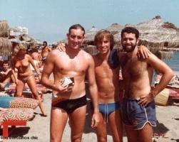Amigos en la playa 1