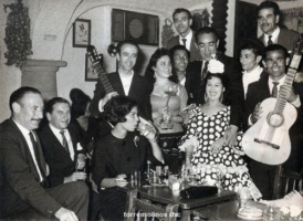 Anthony quinn y flamencos