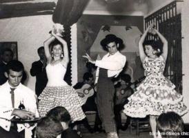 Bailando bodega andaluza