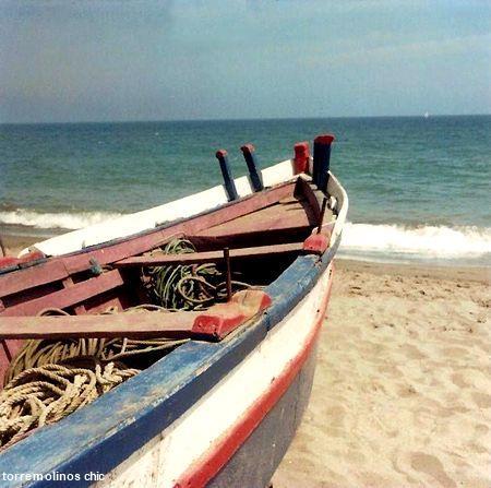 Barca en la carihuela