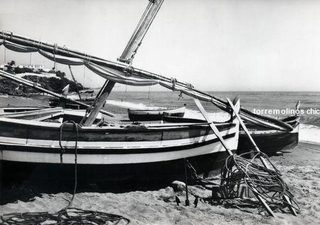 Barcas en la carihuela