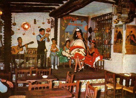 Bodega andaluza cuadro flamenco