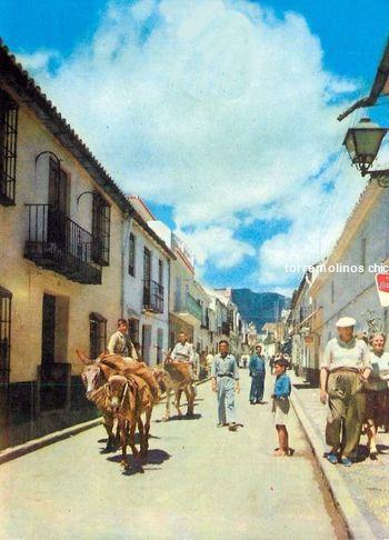 Calle san miguel años sesenta