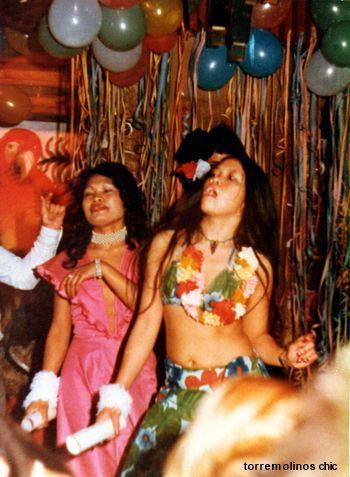 Chicas bailando