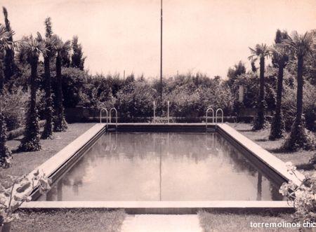 El horizonte piscina