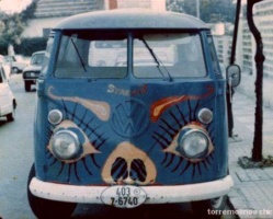 Furgoneta volkswagen