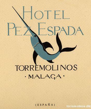 Hotel pez espada emblema