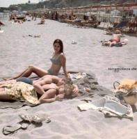 Jovenes en la playa