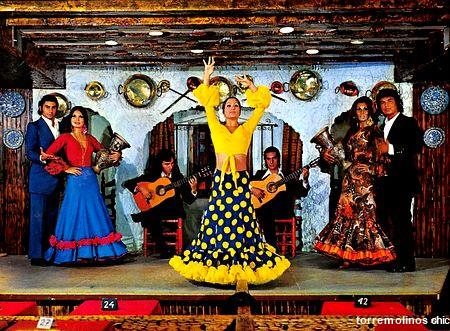 Mariquilla y su cuadro flamenco