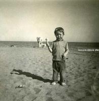 Pascal en la playa