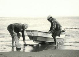 Pescadores en el bajondillo