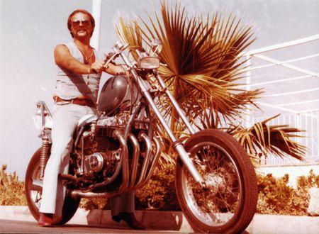 Peter theune motocicleta
