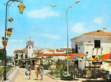 Plaza de la nogalera pueblo andaluz