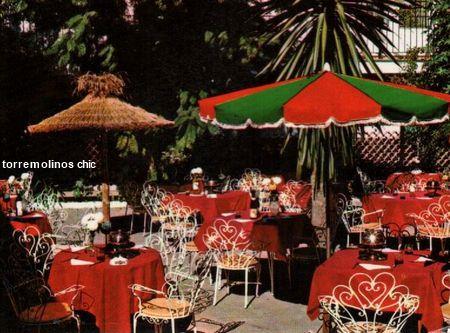 Terraza del restaurante florida