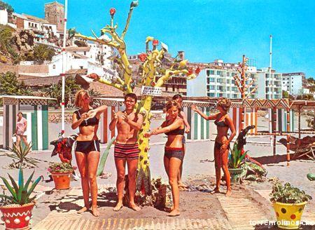 Turistas en torremolinos