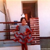 Vestida de flamenca